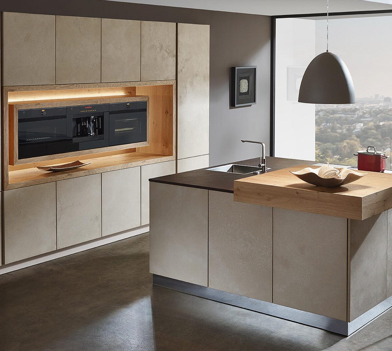 Küchen in I-Form – die Küchenzeile  xanocs.com