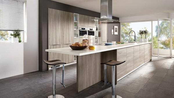 Küche xselin L 203 von xanocs - zeitlose Küchen